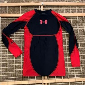 Under armor boys fitted long sleeve